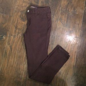 Plum Jeggings